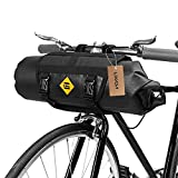 lixada Bicycle Handlebar Bag Bike Front Bag Pannier Bag with Reflective Stripe for Outdoor Activity Cycling Bike Pack Accessories(Optional)
