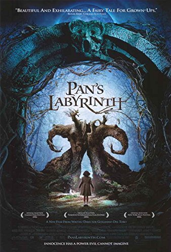 Pan's Labyrinth Movie POSTER 27 x 40 Ivana Baquero, Doug Jones, D, MADE IN THE U.S.A.
