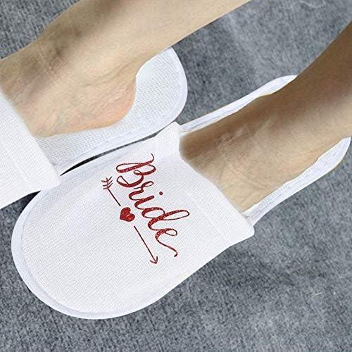 Cheung et future FEMME LUNE DE MIEL Spa Pantoufles Idéal cadeau de mariage pour les jeunes mariés