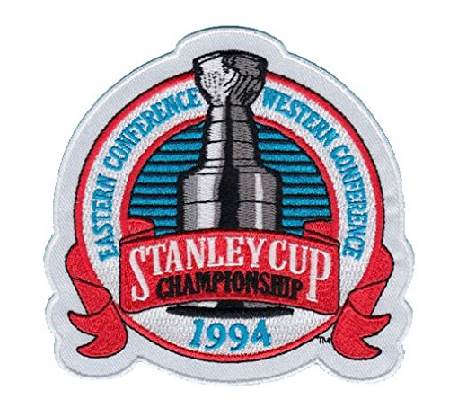 1994 NHL Stanley Cup Jersey Patch New York Rangers vs. Vancouver Canucks ()