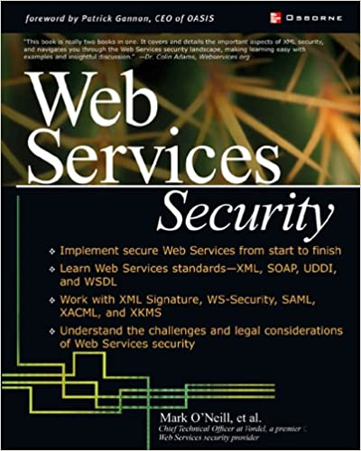 Web Services Security (Application Development) 1, Mark O'Neill