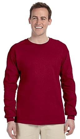 2f7f2ea971a14f Fruit of the Loom 5 oz. 100% Heavy Cotton HD Long-Sleeve T-Shirt ...