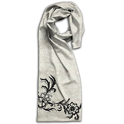 Flower Unisex Double Side Printing Fashion Scarves 71