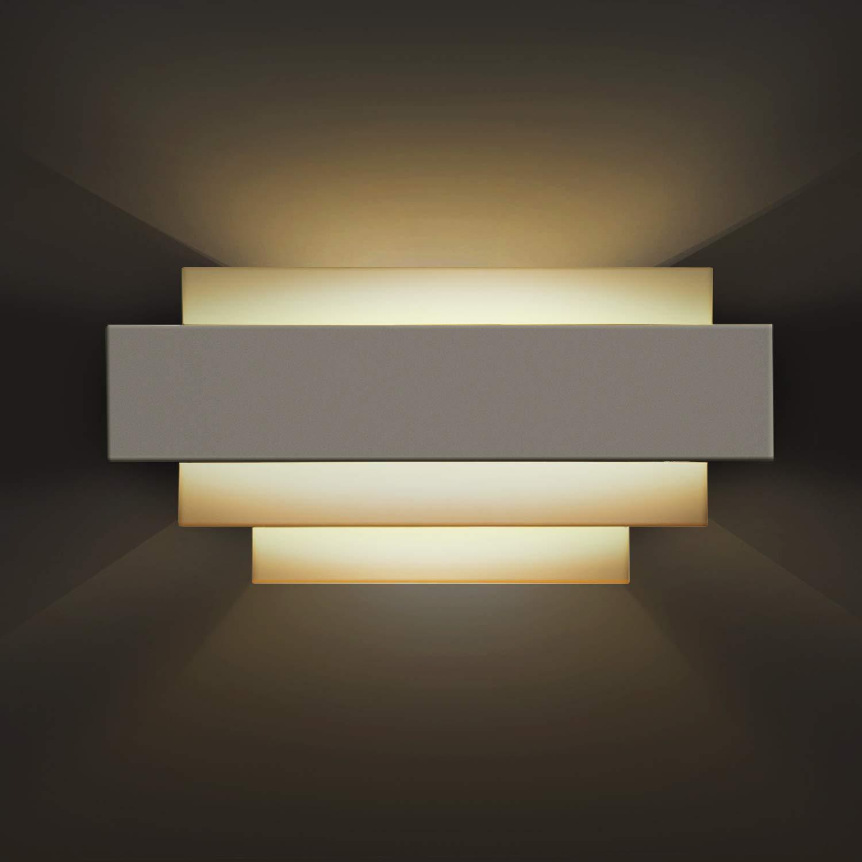Applique Murale Interieur, Awebb Lumière LED Moderne pour escalier/couloir / salle de bain/chambre des enfants (éclairage 10W)