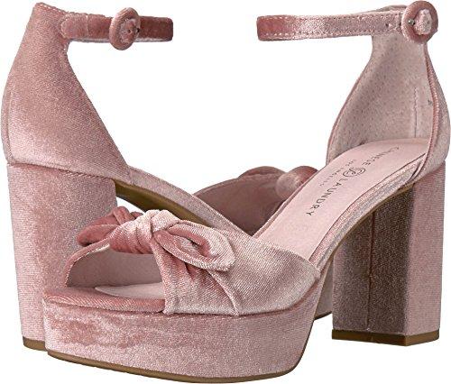 Chinese Laundry Women's Tina Platform Dress Sandal, Rose Velvet,  7 M US