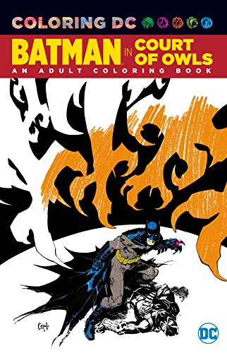 Batman in The Court of Owls: An Adult Coloring Book -