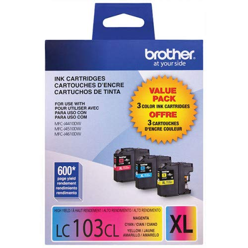 Brother LC103 Innobella High-Yield Ink Cartridge, Color - 3