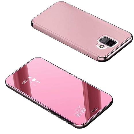Amazon.com: Girlyard - Funda con tapa para Samsung Galaxy A6 ...