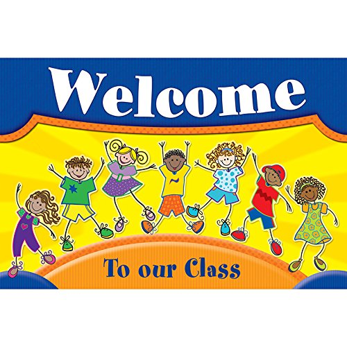 TEACHER CREATED RESOURCES FANTASTIC KIDS WELCOME POSTCARDS (Set of 24) (Kids Welcome Postcards)