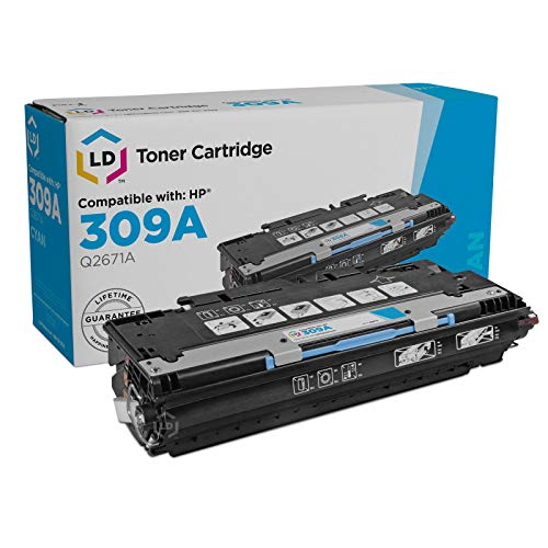 (LD Remanufactured Toner Cartridge Replacement for HP 309A Q2671A (Cyan))