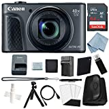 Canon Powershot SX730 HS Bundle (Black) + Deluxe Accessory Kit – Including Everything You Need to Get Started