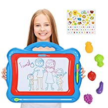 Magnetic Drawing Board, NextX Big Size Magnetic Writing Pad, Christmas Gifts for Girls and Boys