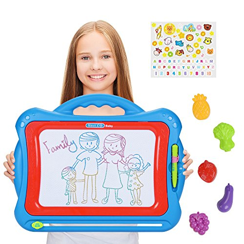 NextX Magnetic Drawing Board Write and Learn Creative Toy (Mega Doodle)