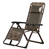 DIDIDD Folding chair recliner folding chair adult leisure chair home backrest couch (color optional),A