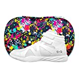 Nfinity White Beast Mid Top Cheer Shoe and Case | Competition and Sideline (Adult 4)
