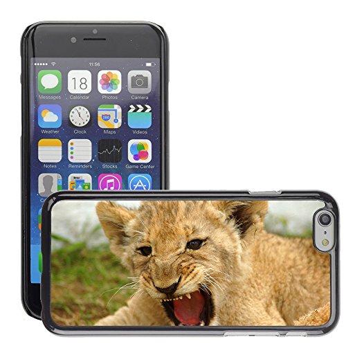 "Premio Sottile Slim Cassa Custodia Case Cover Shell // V00002139 lionceau // Apple iPhone 6 6S 6G 4.7"""
