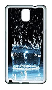 Samsung Note 3 Case Water Drop 08 TPU Custom Samsung Note 3 Case Cover White