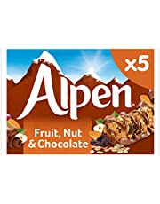 Alpen Fruit and Nut with Milk Chocolate Bar, 145 g