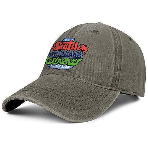 Unisex Seattle Havana Tehran Poster Show Fashion Peak Cap Baseball Caps Fashion Trucker Hats Fit Snapback Hats ()