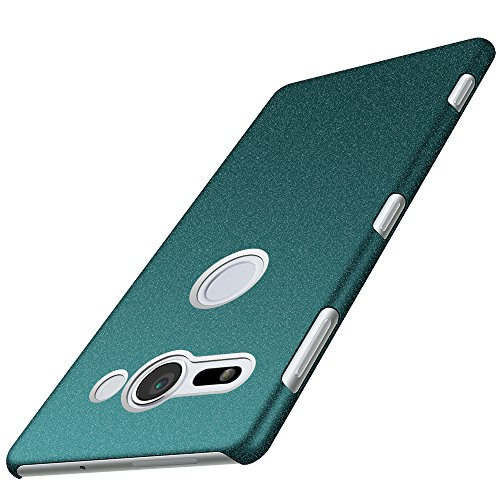 Anccer Sony Xperia XZ2 Compact Case [Colorful Series] [Ultra-Thin] [Anti-Drop] Premium Material Slim Cover for Sony Xperia XZ2 Compact 2018 (Gravel Green)
