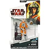Star Wars 2009 Legacy Collection BuildADroid Action Figure Luke in Snowspeeder Outfit