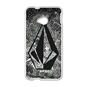 Volcom for HTC One M7 Cell Phone Case & Custom Phone Case Cover R57A652120