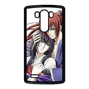 Himura Kenshin LG G3 Cell Phone Case Black Phone cover W9316893