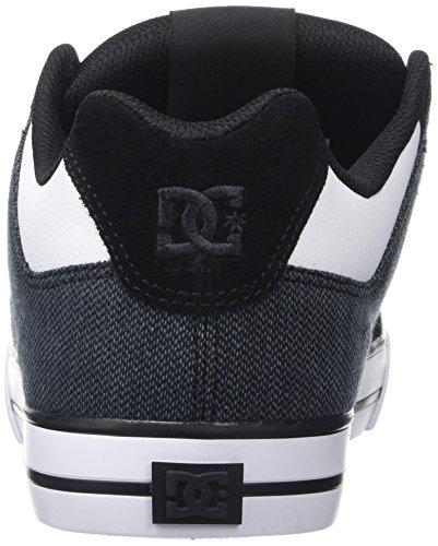DC Shoes Pure Se, Basse Uomo Nero (Black/White)