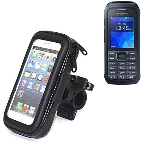 Montaje de la bici para Samsung Xcover 550, montaje del manillar para smartphones / teléfonos móviles, de aplicación universal. Conveniente para la bicicleta, motocicleta, quad, moto, etc. repelente a