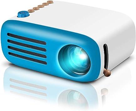 Amazon.com: Proyector de vídeo, proyector Pico, Azul), YG200 ...