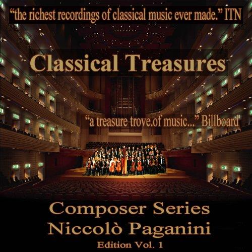 Classical Treasure Composer Series: Niccolo Paganini, Vol. 1
