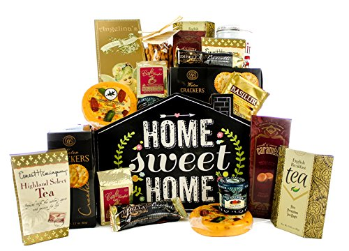 Gifts Unlimted New Home Housewarming Gift Basket, Home Sweet Home, Great Realtor Gift