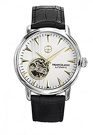 Trendy Classic Automatic – cb1021 – 31 – Automatikuhr – Armband Edelstahl schwarz