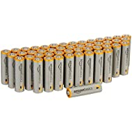 AmazonBasics AA Performance Alkaline Batteries (48-Pack...