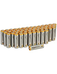 AmazonBasics AA Performance Alkaline Batteries (48-Pack) - Pa...