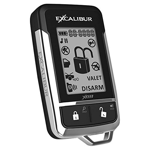 Excalibur 151003E Omega Replacement 2 Way LCD Remote for AL18703DB