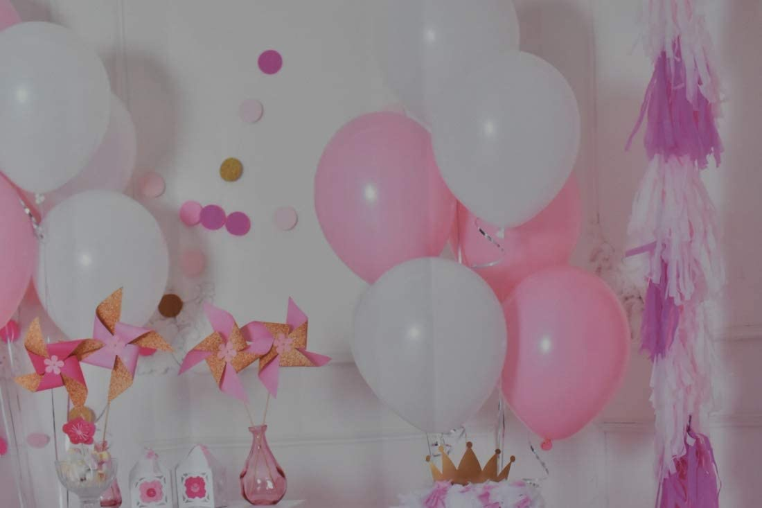Wofawofa 5X7FT Baby Shower Backdrop Vinyl Sweet Baby Pink Backdrop Solid Color Woom Wallpaper Cake Smash Photography Background for Girls 1st Birthday Party Dessert Table Photo Studio Props MP08