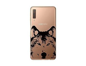 coque samsung a7 2018 loup