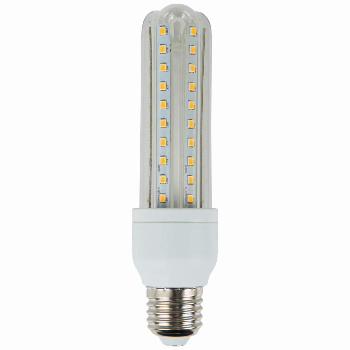 Aigostar Bombilla LED T3 3U de 12W, rosca grande y luz cálida E27: Amazon.es: Iluminación
