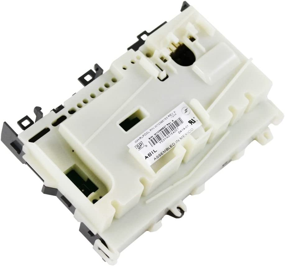 Whirlpool W10906414 Dishwasher Electronic Control Board Genuine Original Equipment Manufacturer (OEM) Part