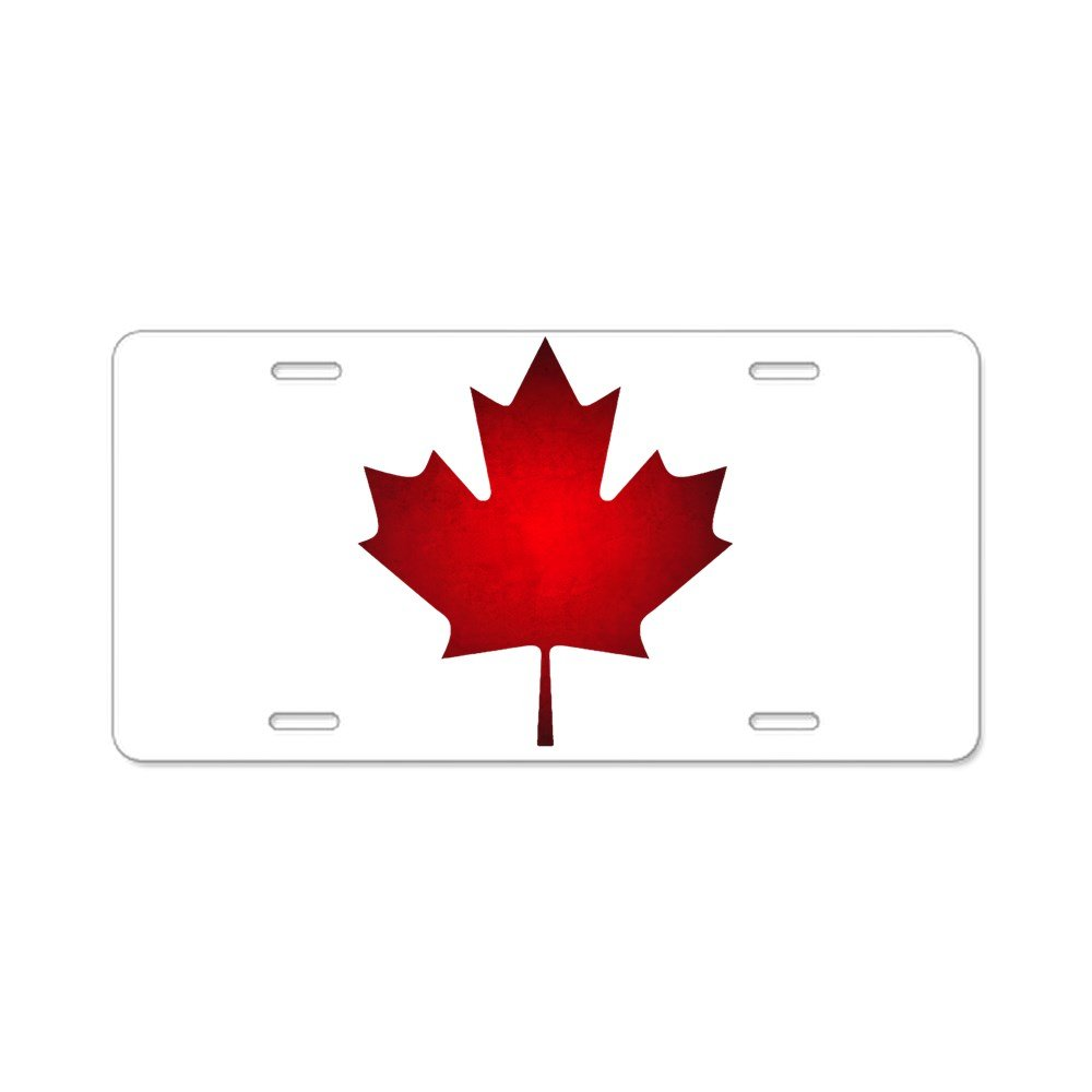Canada: Black Military Flag Front License Plate Aluminum License Plate CafePress Vanity Tag