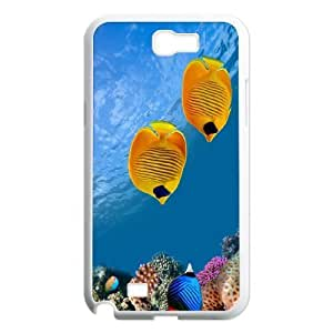 Samsung Galaxy Note 2 N7100 Fish Phone Back Case DIY Art Print Design Hard Shell Protection YT045413