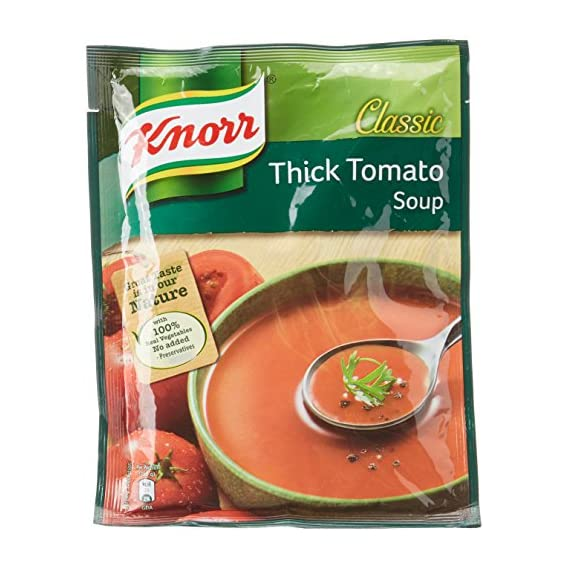 Knorr Classic Thick Tomato Soup, 53g (Pack of 2)