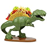 TACOsaurus Rex Taco Holder - Dinosaur T-Rex Novelty Taco Stand Party Plate Serveware