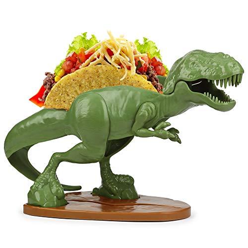 (Set) Nachosaurus w/Dip Bowl & Tacosaurus Rex Holder - Prehistoric Appetite by Barbuzzo (Image #5)