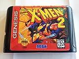 X-Men 2: The Clone Wars (Sega Genesis / Megadrive) - Reproduction Cartridge with Clamshell Case and Manual