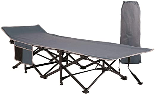Military Cot for Camping Outdoors Office Use Heavy Duty Lightweight Portable Foldable Outdoor Bed with Carry Bag NAIZEA Folding Camping Bed Camping Cots for Adults