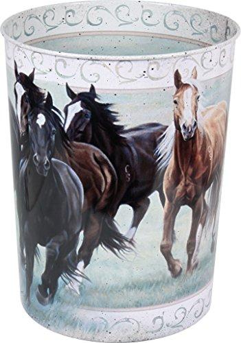 Horse Theme Waste Basket