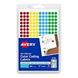 Avery Assorted Removable See-Through Color