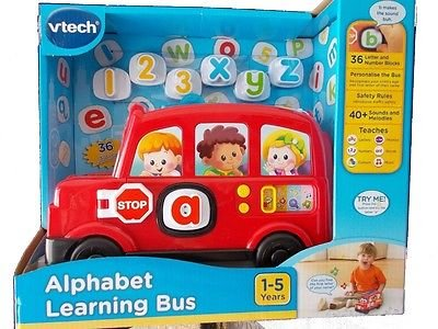 Alphabet Learning Toys : Vtech alphabet learning bus amazon toys games